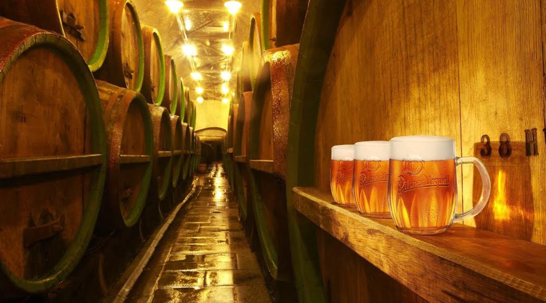 Chauffeur tour to Pilsner Urquell brewery